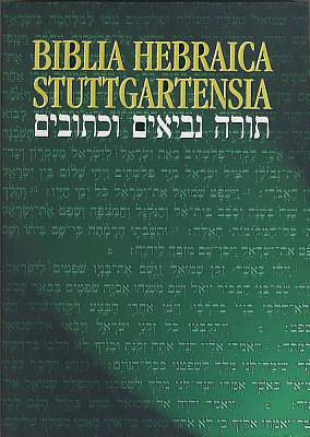Picture of Biblia Hebraica Stuttgartensia Hebrew Bible