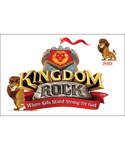 Group VBS 2013 Kingdom Rock Iron-On Transfers (pkg. of 10)