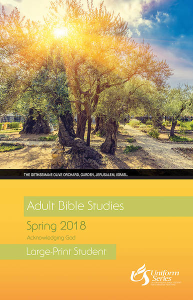 Adult Bible Studies Spring 2018 Student [Large Print]