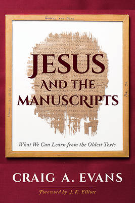 Picture of Jesus and the Manuscripts