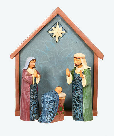 Picture of Heartwood Creek Nativity Set (4 Piece)