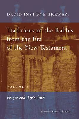 Traditions of the Rabbis from the Era of the New Testament Volume 1