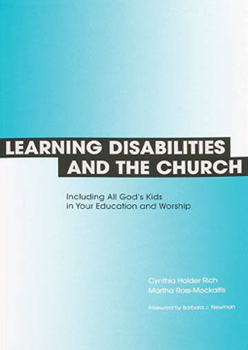 Learning Disabilities and the Church