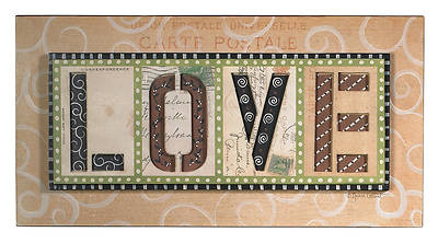 Picture of LOVE Wall Plaque