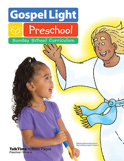 Picture of Gospel Light Preschool Ages 2-3 Activity Page Year A Winter