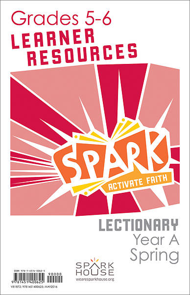 Picture of Spark Lectionary Grades 5-6 Learner Leaflet Year A Spring