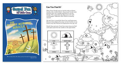 Picture of Sunday Morning Miracle Activity Book