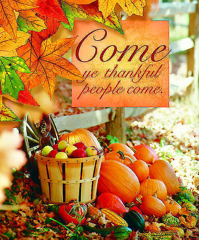 Come Thanksgiving  Bulletin 2012, Large Size (Package of 50)