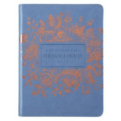 Picture of Journal Lux-Leather Flexcover Strength and Dignity