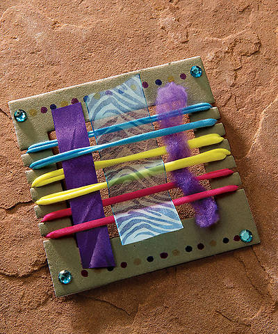 Group VBS 2014 Wilderness Escape Tiny Tapestry Loom Kits 10pk