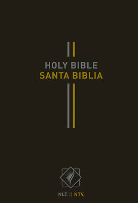 Picture of Bilingual Bible / Biblia Bilingüe Nlt/Ntv (Hardcover, Black)