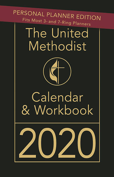 Picture of The United Methodist Calendar & Workbook 2020 - Personal Planner Edition