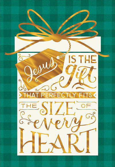 Jesus Is The Gift Christmas Card