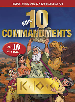 Kids Ten Commandments The Complete Collect DVD