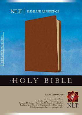 Picture of Slimline Reference Bible NLT