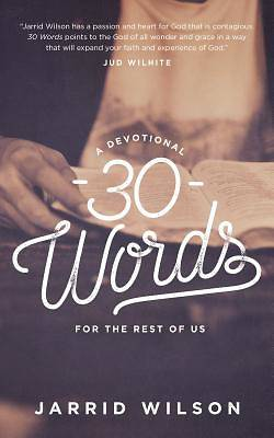 30 Words Second Edition
