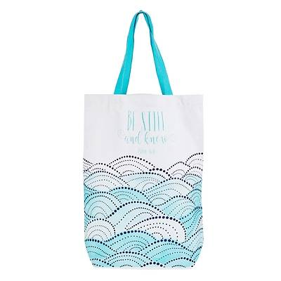Picture of Tote Canvas Be Still and Know