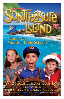 Gospel Light VBS 2014 SonTreasure Island Bulletin Insert 100pk