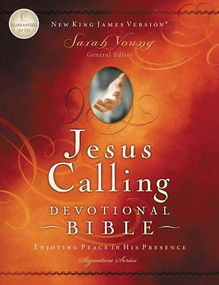 Jesus Calling Devotional Bible, New King James Version