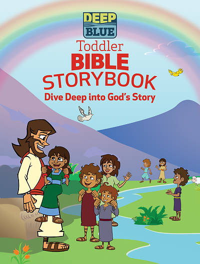 Picture of Deep Blue Toddler Bible Storybook