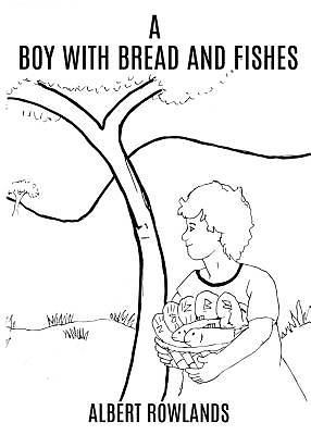Picture of A Boy with Bread and Fishes