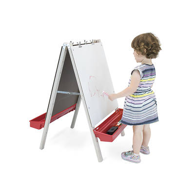 Picture of Whitney Brothers WB1863 Toddler Adjustable Easel With Write and Wipe Panels