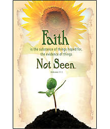 Faith is the Substance Bulletin, Regular (Package of 100)