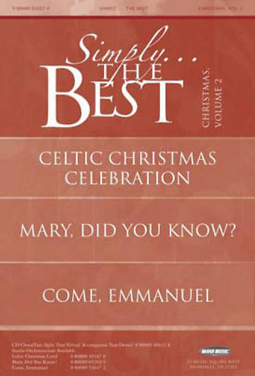 Simply the Best Christmas, Volume 2 Booklet