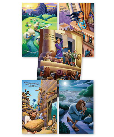 Group VBS 2013 Kingdom Rock Bible Story Posters (set of 5)
