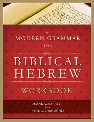 Picture of A Modern Grammar for Biblical Hebrew Workbook