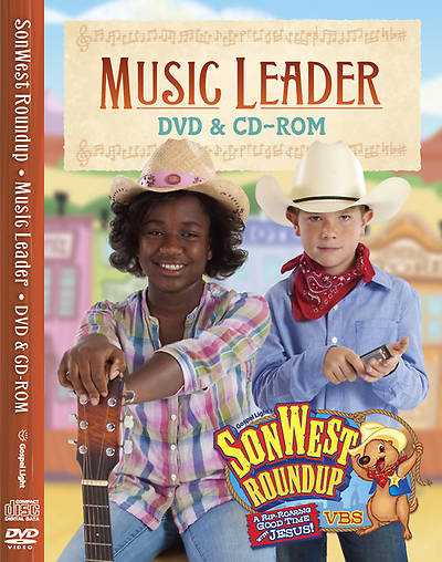 Gospel Light Vacation Bible School 2013 SonWest RoundUp Music Leader DVD-ROM and CD-ROM