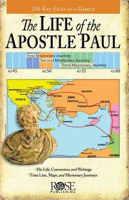 Life of Apostle Paul Pamphlet