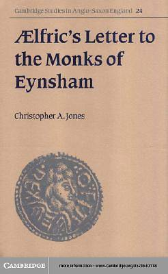 AElfrics Letter to the Monks of Eynsham [Adobe Ebook]
