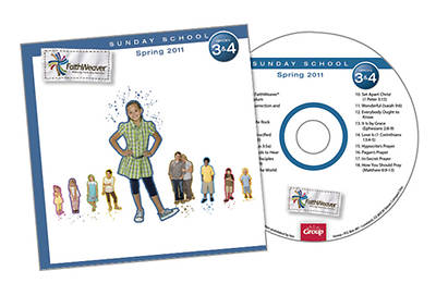 Picture of FaithWeaver Grades 3 & 4 Additional CD Spring 2011