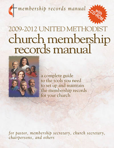 2009-2012 United Methodist Membership Records Manual with CD-ROM