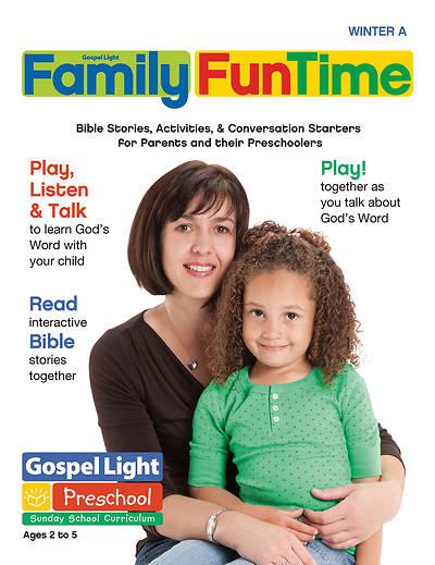 Picture of Gospel Light Preschool/PreK-K Age 2-5 Take Home Paper Year A Winter