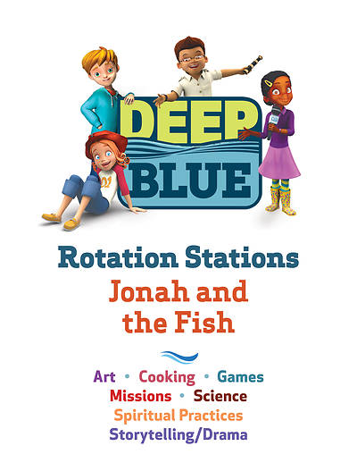 Deep Blue Rotation Stations: Jonah and the Fish - Entire Unit Download
