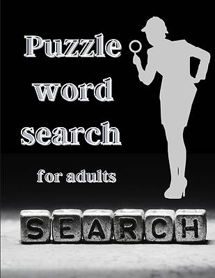 Picture of Puzzle word search for adults