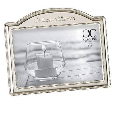 Picture of Arched In Loving Memory Silver Tone Zinc Alloy Photo Frame