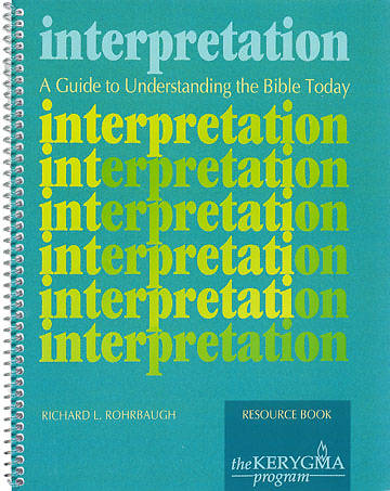 Kerygma - Interpretation Resource Book