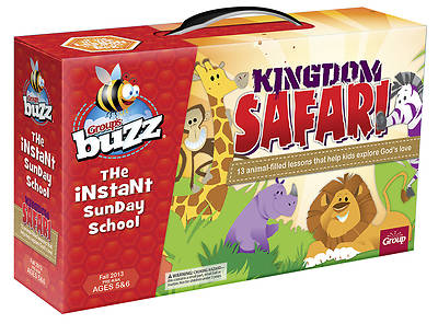 Groups Buzz Pre- K&K Kingdom Safari Kit Fall 2013