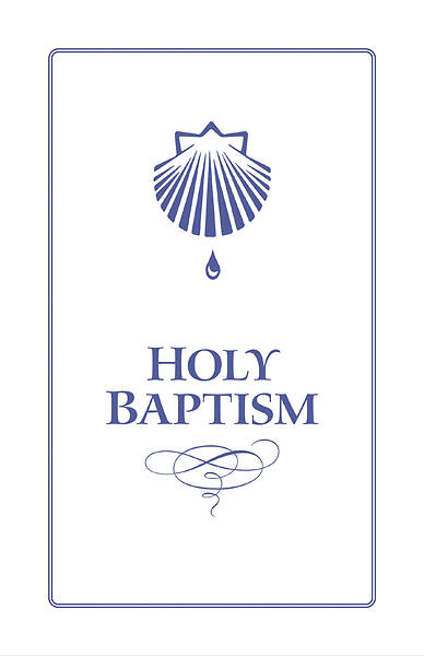Holy Baptism Booklet with Envelope