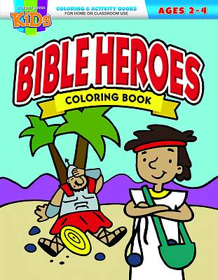 Picture of Bible Heroes Coloring Book
