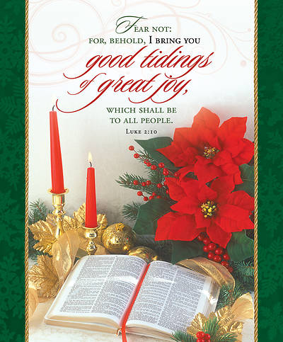 Good Tidings of Great Joy Christmas Legal Size Bulletin