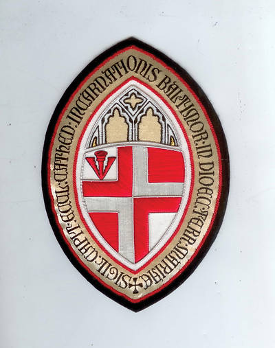 Hand Embroidered Diocesan Seal