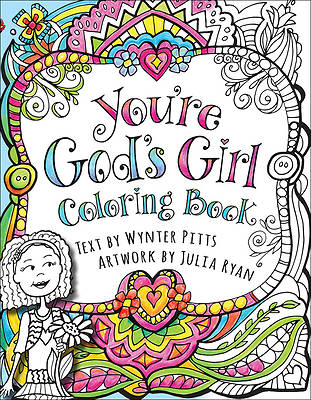 Youre Gods Girl! Coloring Book