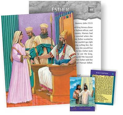 Picture of Biblestorycards Old Testament Supercards