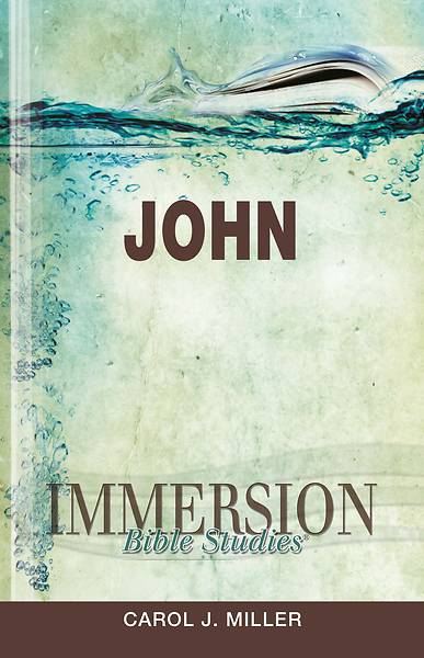 Immersion Bible Studies: John - eBook [ePub]