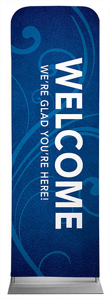 Picture of Welcome Flourish Sleeve Banner