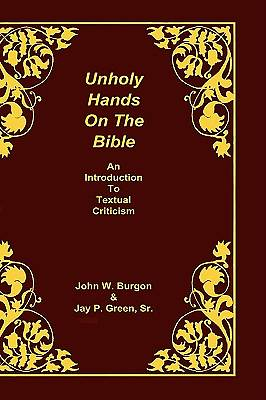 Unholy Hands on the Bible
